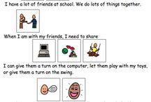 Learning. Social story