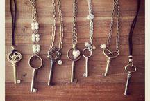Boho Key Necklace