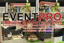 VENDOR BOOTH PAMERAN / Eventpro sebagai vendor booth pameran jakarta terpercaya 081212103386 - 081290452586