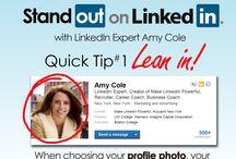 LinkedIn TIPS / Social Media Swap between My Image Artist (www.myimageartist) and LinkedIn Amy Cole (www.AmyCole.com)