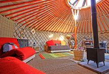 Awesome home Yurt n Tepee / Mongolia house / by Mita Block