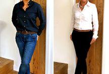 Ladies in modernen Outfits - geschäftlich und privat