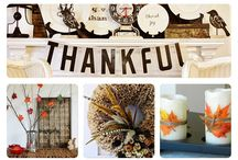 Thanksgiving Decorations / by Amber Delozier