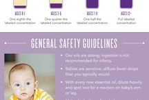 Essential oil kiddos / Tips for using essential oil with children