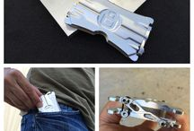 Minimalist Wallet / Minimalist Aluminum Wallet
