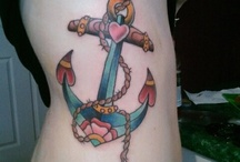 tattoos / by JOANNA CHANDLER