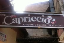 IL CAPRICCIO  / Ristorante pizzeria