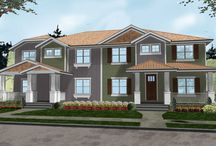 AHP | Multi-Family House Plans / Our collection Multi-Family House Plans available for sale at advancedhouseplans.com