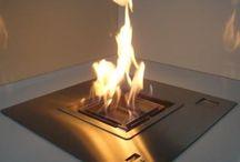 cheminee ethanol