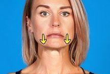 exercices double menton