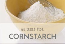 Cornstarch, 25 Uses For
