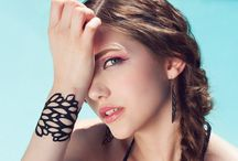 recycled inner tube jewelry