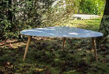 "Table Basse ""Butterfly 2"" / Table basse bois résine  #résine #boisrésine #bois #wood #création #table #design #fibredeverre #mobilier #cabinet maker #resin #bois/résine #interior design"