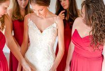 WP Weddings | Magenta, Sangria, Maroon, Cranberry, Red Tones / Wedding color inspiration: magenta, sangria, maroon, cranberry, red tones | Wolfcrest Photography