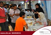 "UHS organized a Kidney awareness event in Sharjah on 7th May 2015 / University Hospital Sharjah (UHS) organized a Kidney awareness event in Sharjah Cooperative Society on Thursday, 7th May 2015. Themed as ""Understanding Your hemodialysis Options"", the event aimed to educating public about the important steps they can take to keep their kidneys healthy. The event was organized in collaboration with ""Friends of Renal Patient""."