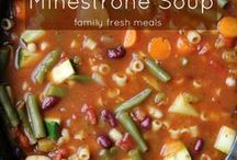 Minestrone soup slow cook