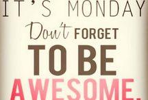 #Monday #Motivation / #Monday, a Fresh Start! Embrace it!