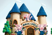 Magic Castle / Chinese Radiothon / We're hoping you'll take part in our Chinese #Radiothon on June 7 and support The Princess Margaret's Magic Castle. The highest donor will take home this magnificent Magic Castle clay model.  3 cute little pigs are included! Go to PMA1.ca for the full details. #ConquerCancer