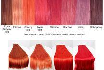 Cabello color fantasía / Puede ser color fantasía o color neutral