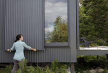 Garden studio - external design