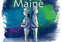 "ALMOST, MAINE (2016) / On a cold, clear night in the middle of winter, Almost's residents find themselves falling in and out of love in the strangest ways. With the northern lights dancing overhead, love is lost, found, and confounded in this whimsically endearing dream of love that the New York Post described as ""Thornton Wilder crossed with The Twilight Zone."" RUNNING: September 8-11 & 16-18, 2016."