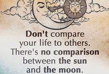 Måne og sol
