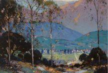 2) Landscape - Alfred Mitchell