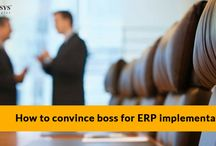 How to convince boss for erp implementation