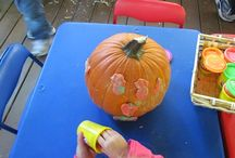 Classroom Theme: Pumpkins & Monsters / by Angel Conaway