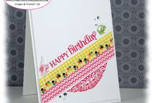 Stampin' Up! - Gingham Garden Washi Tape / by Rochelle Blok, Independent Stampin'  Up! Demonstrator
