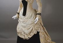 Dresses ca.1880-1889