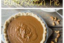 butterscotch creme pie / by Kris Bach