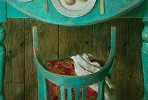 A   TABLE  ! ! !
