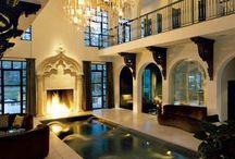Classic swimming pool