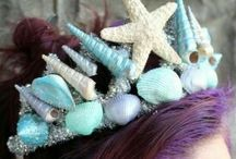 Crafts:Tiaras Ocean and Flowers