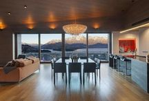 The Copper House, Queenstown / The Copper House, in Queenstown, New Zealand, is the dream Villa rental for hosting and impressing...including our #Ugolino lamp.
