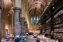 Libraries / Bookstores / Bookshelves / Bookporn!