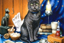 Bastet's Children / Cats In Art / by Kitty Plechaty