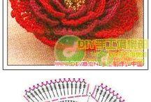 fiori a crochet