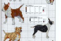 borduren honden