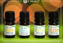It Works! Essential Oils / Just in time for the holidays, get ready to BOOM, CHILL, DEFEND, and CLEAR with the It Works! Essential Oils! / by It Works!