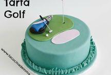 Tartas golf