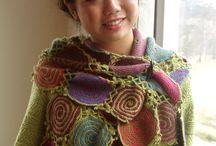 lovely things / spiral crochet  very pretty