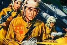 Vintage Future / Retro Futurism/Sci-Fi Illustrations • Pinterest.com/ScottMonaco • More at: QuietYell.com