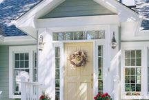 My Front Porch / Ideas for porch addition  / by Dionne Trifiro