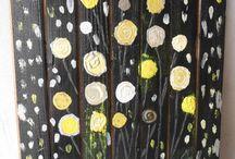 Le palettes / Bois de palettes ou de plancher de récupération, faites vous plaisir, ces tableaux ont trouvé leur place dans mon jardin.   https://www.etsy.com/fr/shop/AtelierdesEtoiles?ref=shop_sugg https://atelierdesetoiles.patternbyetsy.com/