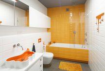 Kolorowa łazienka