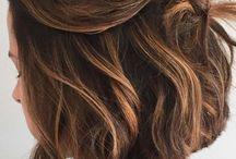 ładne włosy, których nigdy nie będzie mi dane posiadać