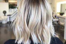 Blonde lob