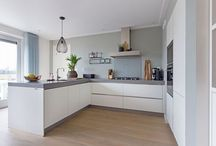 keuken muur kleur